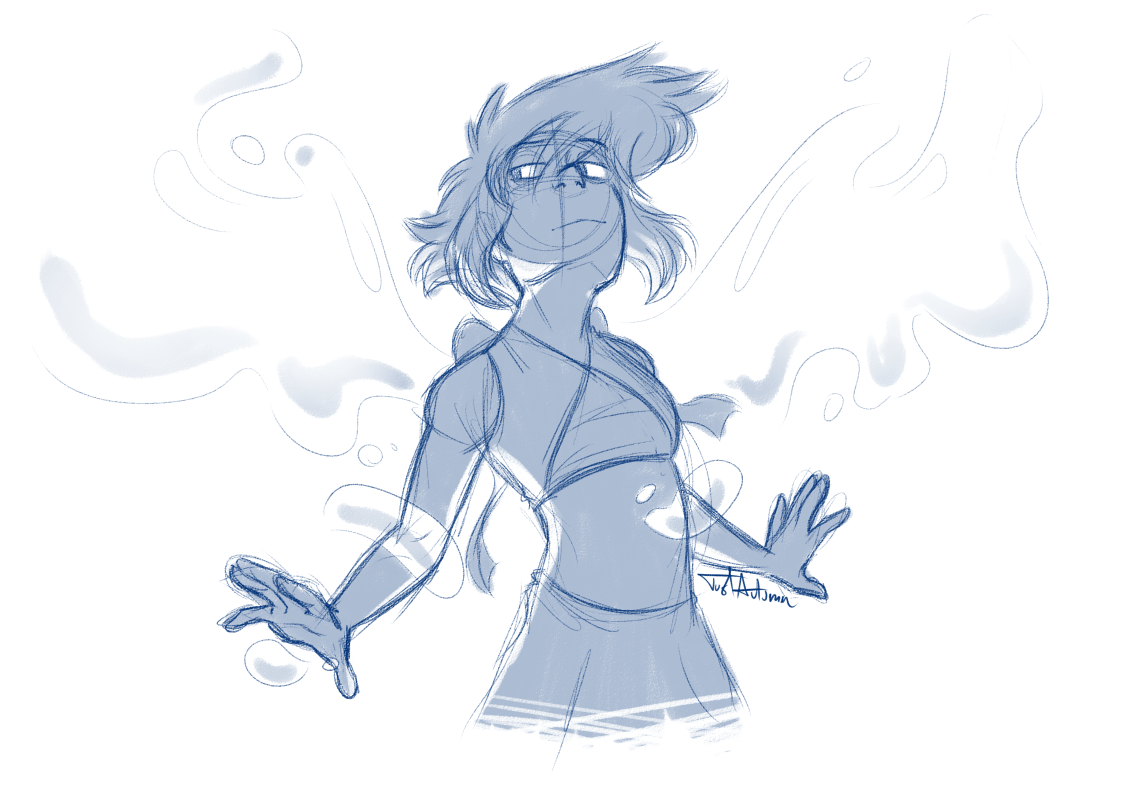 doodled lapis while listening to this