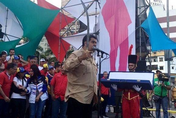 Presidente Maduro denuncia nueva campaña financiera contra su país. Foto: Correo del Orinoco.