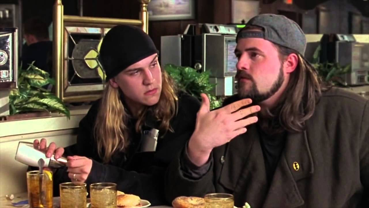 Jay And Silent Bob In Chasing Amy Jay And Silent Bob Photo