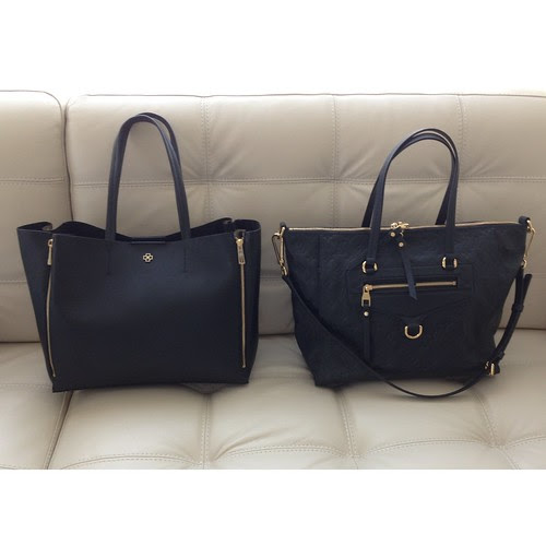 Ann Taylor Gallery Tote vs. Louis Vuitton Lumineuse PM Monogram Empreinte