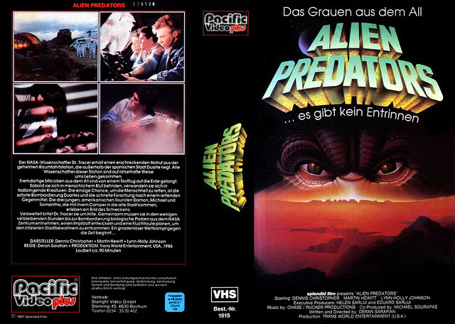 Alien Predators (VHS Box Art)