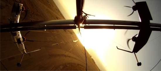 Turbina eólica voadora vai buscar ventos nas alturas