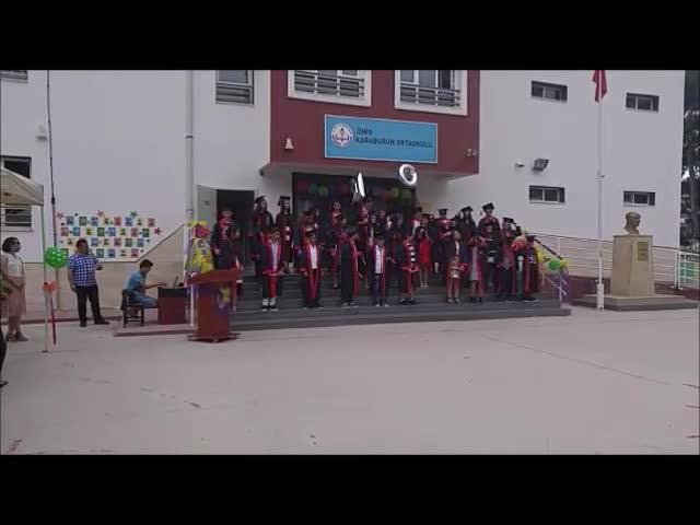 Izmir Karaburun Karaburun Ortaokulu Mezuniyet Töreni Izle Video