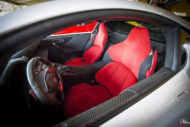 Lexus LFA Seats