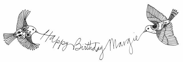 Margie's Birthday