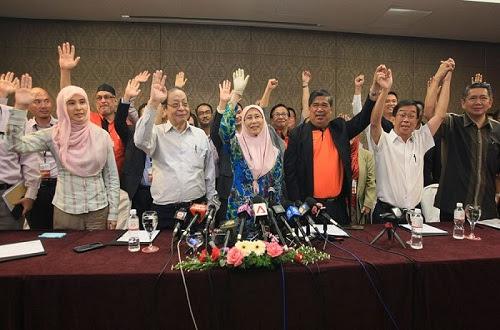 Pergolakan PKR: Dr Wan Azizah dapat mandat isytihar Pakatan Harapan