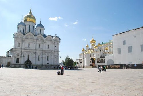 Cathedral Square, Moskow Kremlin