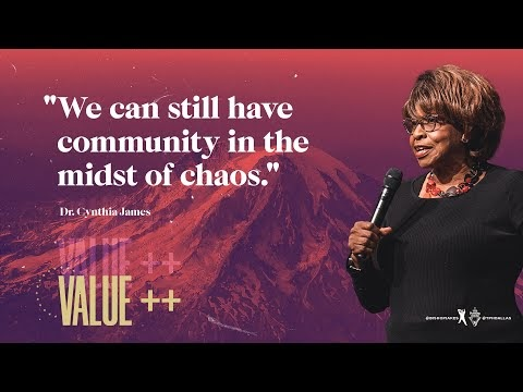 Value++ Recap - Dr. Cynthia James