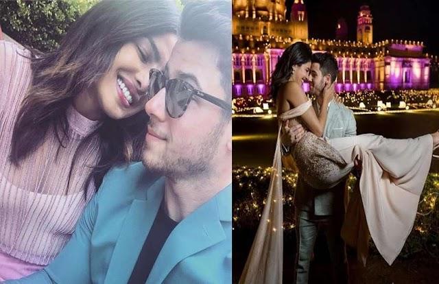 खुलेआम प्यार का इजहार करते हैं निक-प्रियंका, रोमांस करते हुए कपल की देखें ये खास तस्वीरें