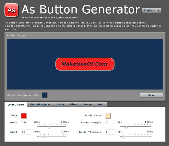 Online Button Generator