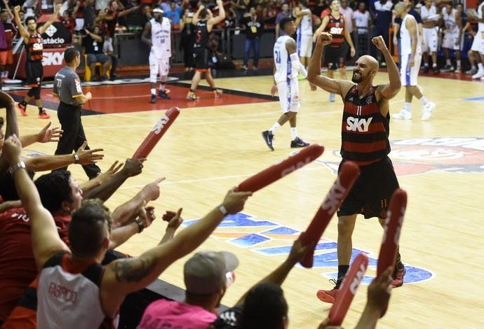 Marquinhos Flamengo NBB Basquete (Foto: André Durão)