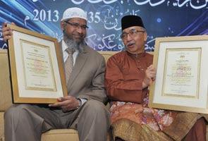 Dr Zakir Naik pernah menerima Tokoh Maal Hijrah peringkat kebangsaan