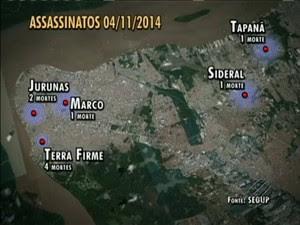 infográfico chcina em belém (Foto: Reprodução/ TV Liberal)