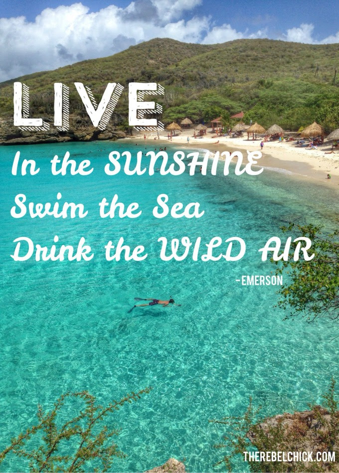 Live In The Sunshine Quotes About The Sea The Rebel Chick