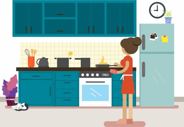 45 Gambar Animasi Perabotan Rumah Tangga HD Terbaik