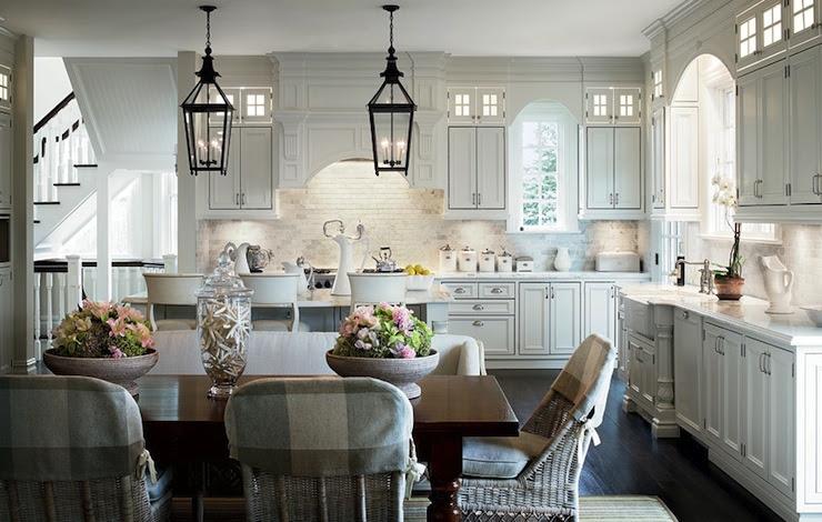 Suzie: Architectural Digest - Alexa Hampton - Lovely kitchen with floor to ceiling white ...