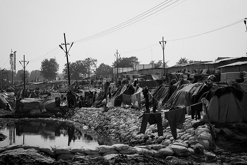 The Poor People At The Maha Kumbh.. by firoze shakir photographerno1
