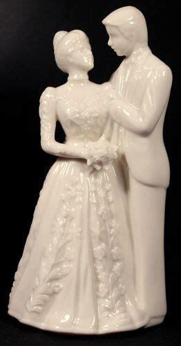 Vintage Lenox Bride Groom Figurine Cake Topper Cream