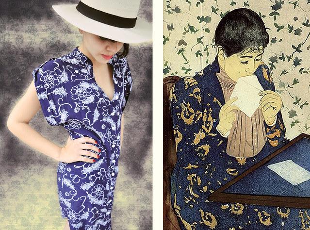 Art Inspiration - The Letter, Mary  Cassatt
