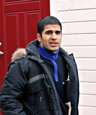 <p>TILTALT:Toska-vennen Imran Saber (37).<br/></p>