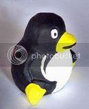 Gerabah Tempat pensil pinguin