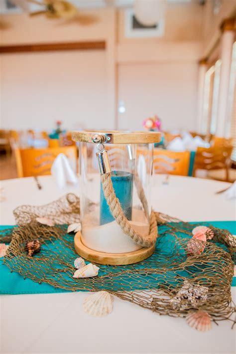 A Very Beachy Blue Coral Wedding In North Carolina