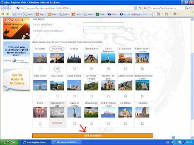 Web 2.0. Fotos, Mapas (Photo, Map & Maps)y Rutas por la Alhambra, Machu Picchu, Chichen Itzá, Isla de Pascua, Cristo Redentor