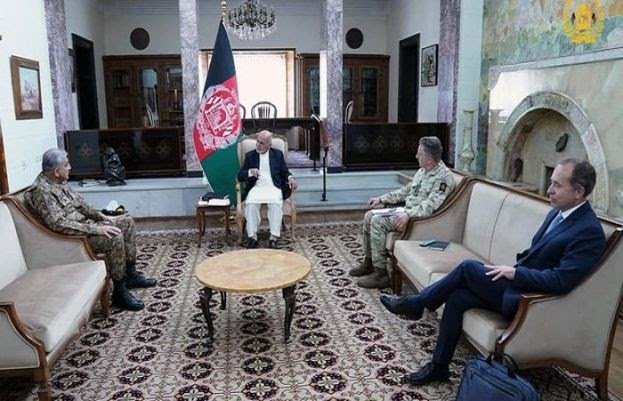 Ashraf Ghani lauds Pakistan's sincere, positive role in Afghan peace process: ISPR | Daily Pakistan