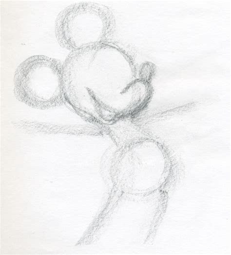 draw mickey mouse