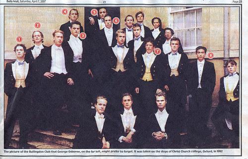 Osborne in the Bullingdon