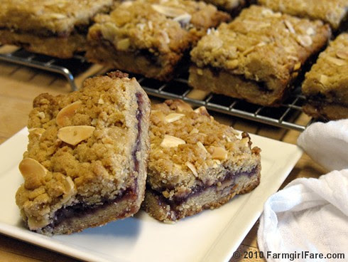 Easy Raspberry Almond Bars 1