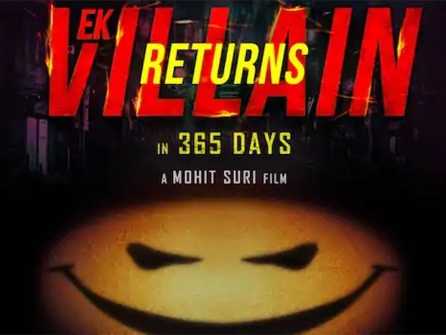 Announcing the release of the sequel to the movie 'Aik Villain Returns'