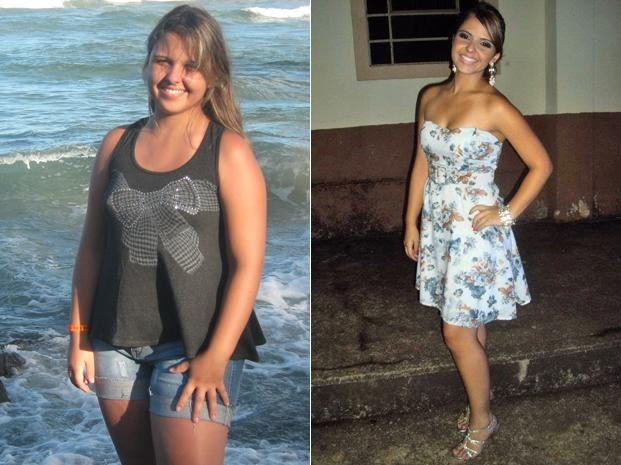 Ana Paula cortou o chocolate da dieta e adicionou exercícios físicos à rotina - resultado foi 18 kg a menos na balança (Foto: Arquivo pessoal)
