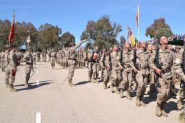 Cerca de 800 nuevos soldados juran Bandera en los Centros de Formación de Tropa