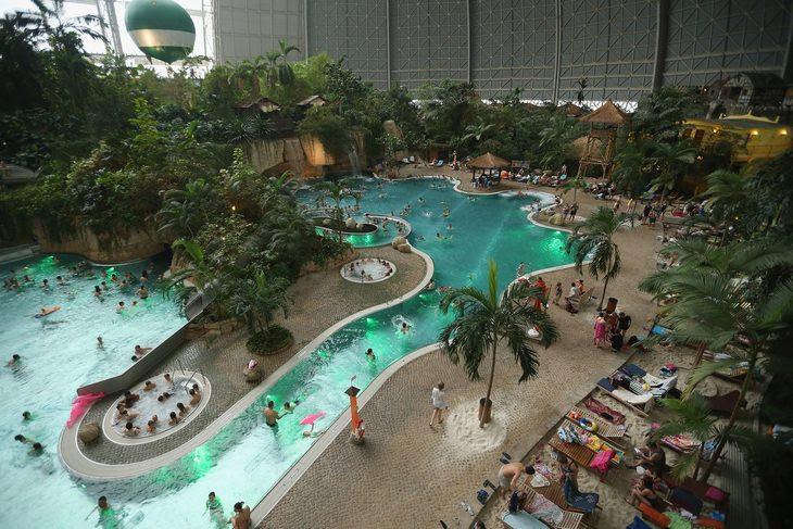 Resort das Ilhas Tropicais em Brandenburg na Alemanha