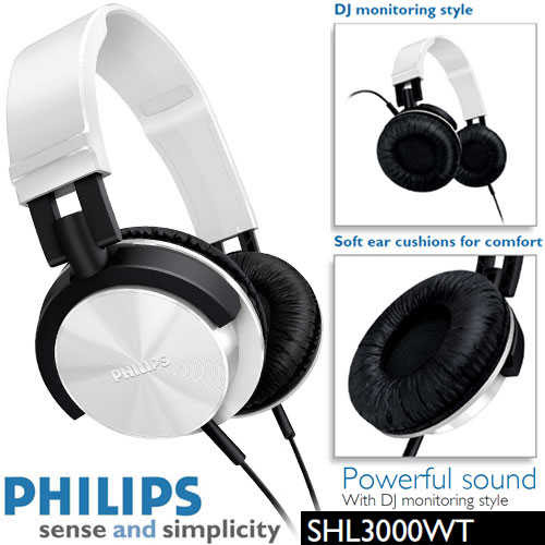 CHOLLO Auruculares Philips SHL 3000WT