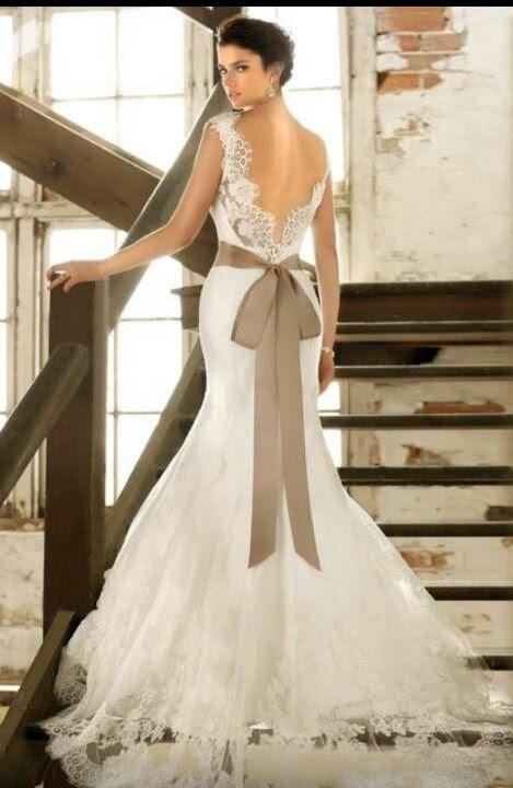 Fall wedding dress