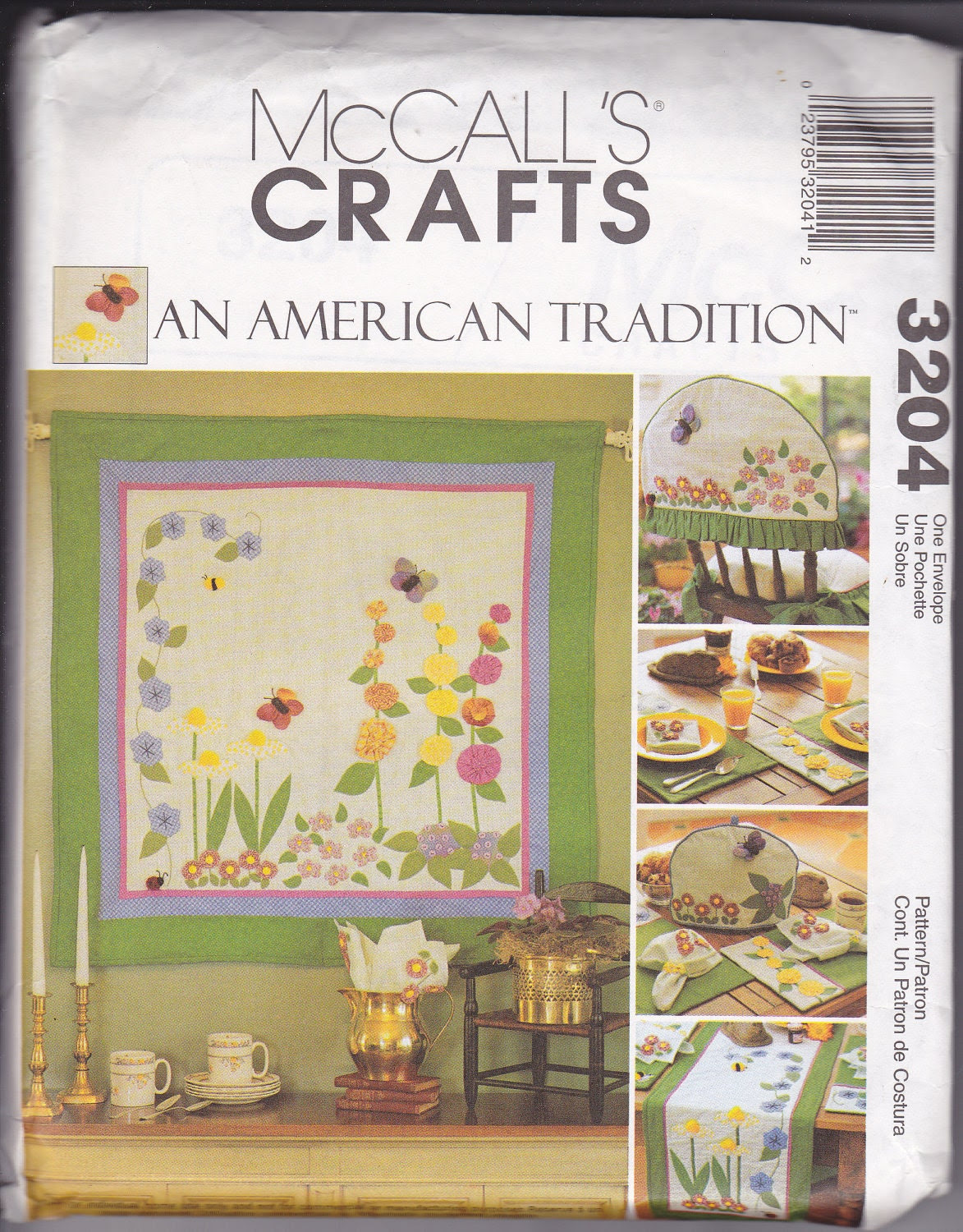 McCalls 3204 Spring Quilted Kitchen by NellieKatzCrafts on Etsy