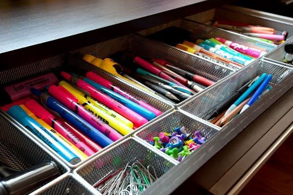 DIY Organization Ideas & Tutorials for Your Home Office ...