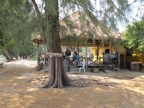Bamboo Island Cafe, Koh Russei, Sihanoukville, Cambodia