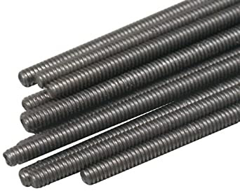 Great Planes All Thread Rod (12-Piece), 2-56x12