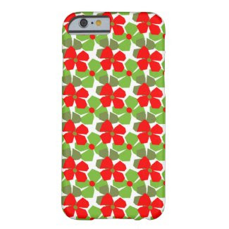 Seasonal Flowers on iPhone 6 Barely There Case Barely There iPhone 6 Case
