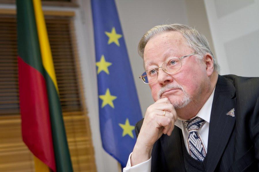 Vizita la Bucureşti a Excelenţei Sale Președintelui Vytautas Landsbergis