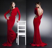 Red velvet evening dress uk