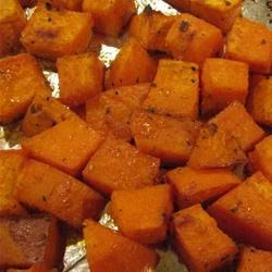 Sweet and Spicy Sweet Potatoes   from Bizzy Bakes