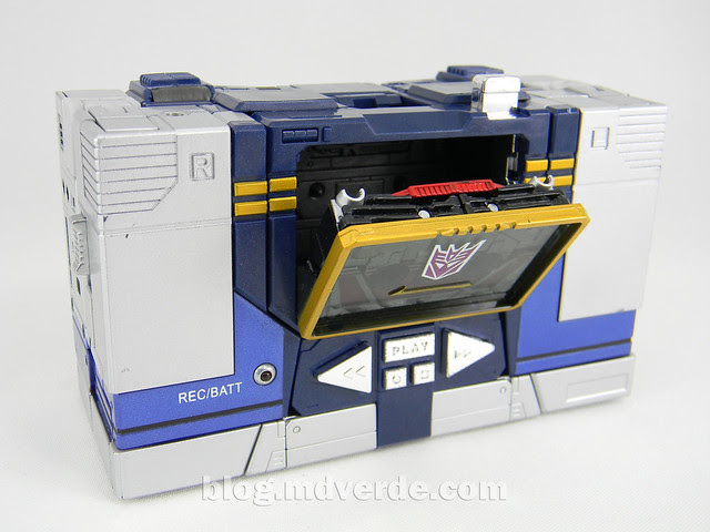 Transformers Soundwave Masterpiece - modo alterno