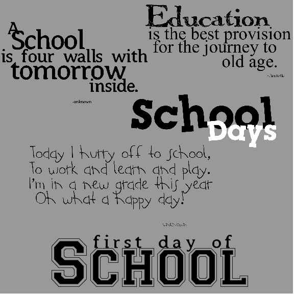 Quotes About Childhood School Days 18 Quotes