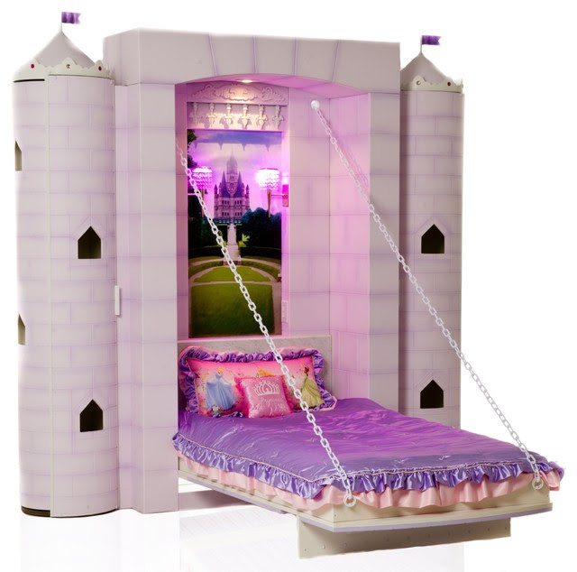 Princess Castle Bed - contemporary - kids beds - vancouver - by ...
