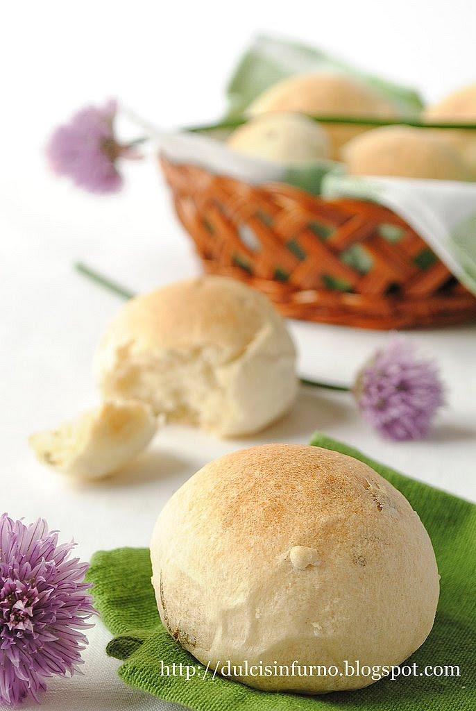 Panini all'Erba Cipollina-Chive Rolls