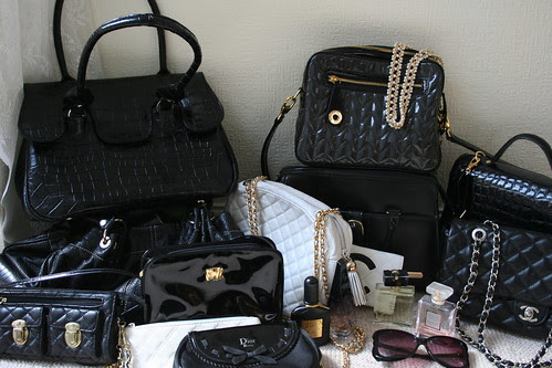 Handbags galore